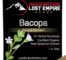 Organic Bacopa by Lost Island Herbs