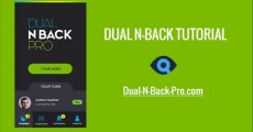 Dual N-Back Tutorial : Classic & Emotional Dual N-Back with Dual N-Back Pro